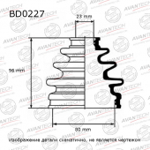 Пыльник привода Avantech BD0227 в городе Красноярск | Интернет-магазин Boostmasters.ru